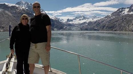 Cruising Glacier Bay, with the John Hopkins Glacier
