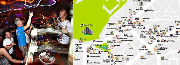 hongik university club area