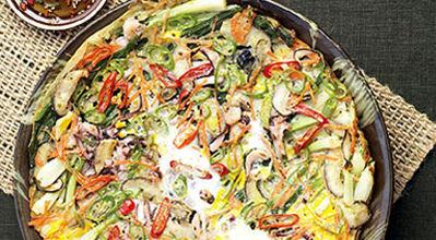 korean pizza : haemul pajeon