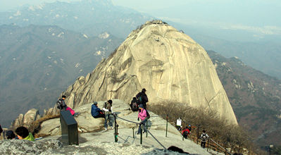 mountains in seoul(bukhan,