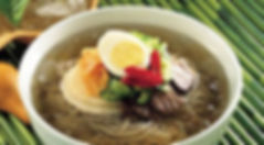 korean food : naengmyeon : cold noodle