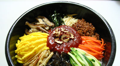 Korean food : bibimbap