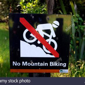 Od danes obvezna dezinfekcija trailov, gorskih koles in še več