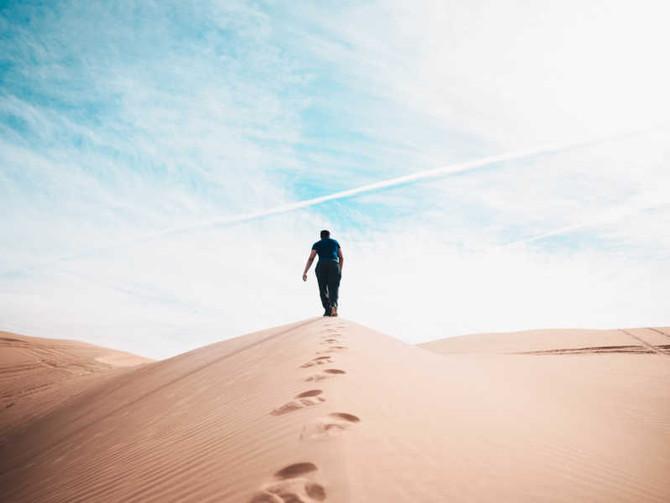「逆境の中で」 In adverse circumstances