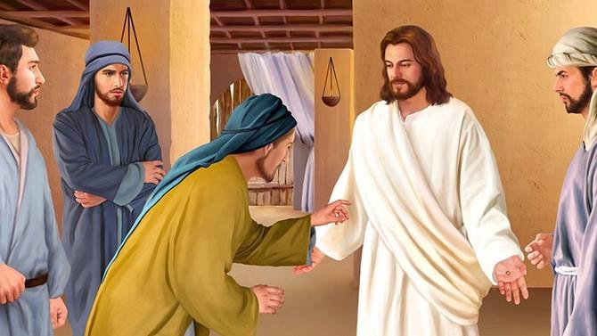 「信じる者は幸い」 Blessed are those who believe