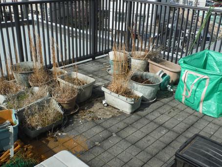相模原市中央区の土の回収事例(Y様邸・積水ハウス屋上)