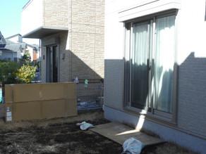ガーデンルームココマの施工が始まりました。神奈川県横浜市