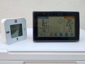 令和3年2月18日(木)のガーデンルーム気温情報です。神奈川県相模原市南区