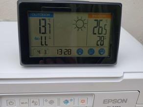令和3年3月4日(木)のガーデンルーム気温情報です。神奈川県相模原市南区