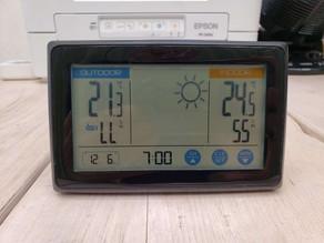 令和3年6月12日(土)のガーデンルーム気温情報です。神奈川県相模原市南区