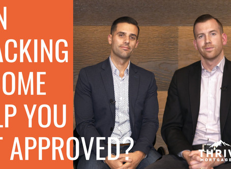 Can You STACK INCOME to GET APPROVED?