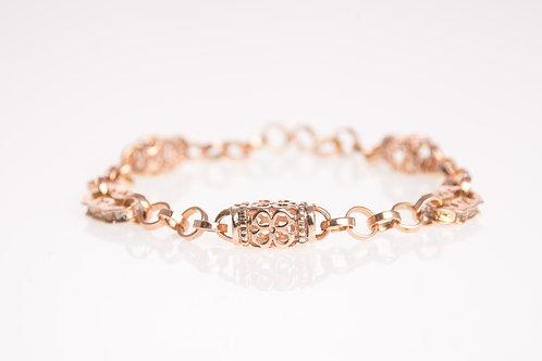 Flower Rose Gold Bracelet