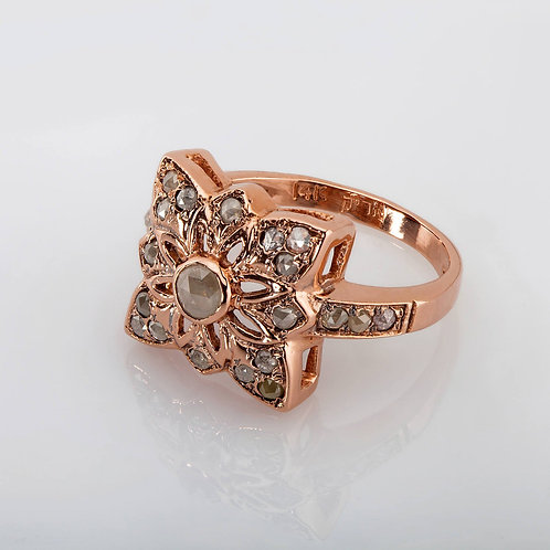 Starfish Diamonds Ring