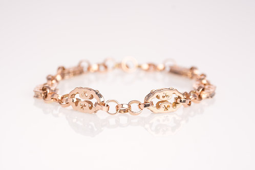 Fancy Rose Gold Bracelet