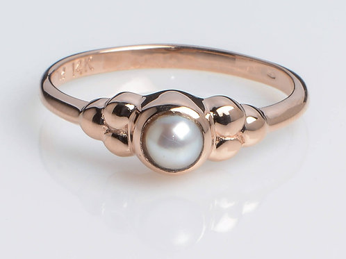 Classic Stacking Pearl Ring