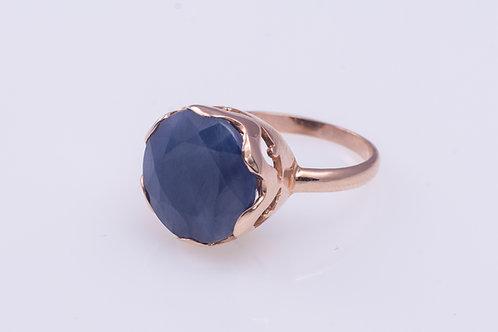 Round Sapphire Princess Ring