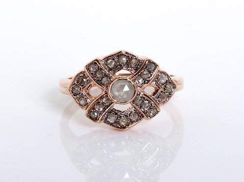 Victorian Style Diamonds Ring