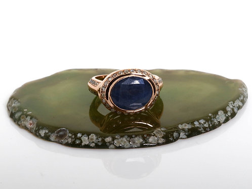 Royal Sapphire Statement Ring
