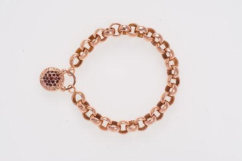 Belcher Rose Gold Bracelet
