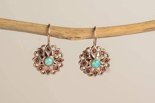 Lace Star Drop Earrings