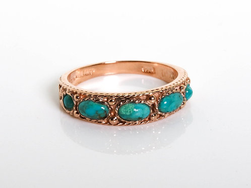 Vintage Arizona Turquoise Ring