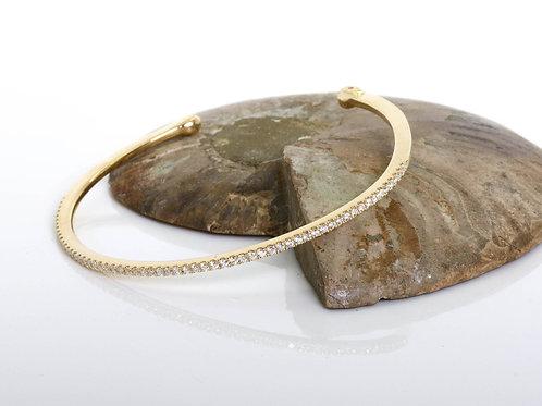 Open Cuff Diamond Bracelet