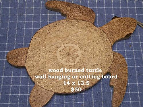 Turtle Wall hanging or Cutting Board