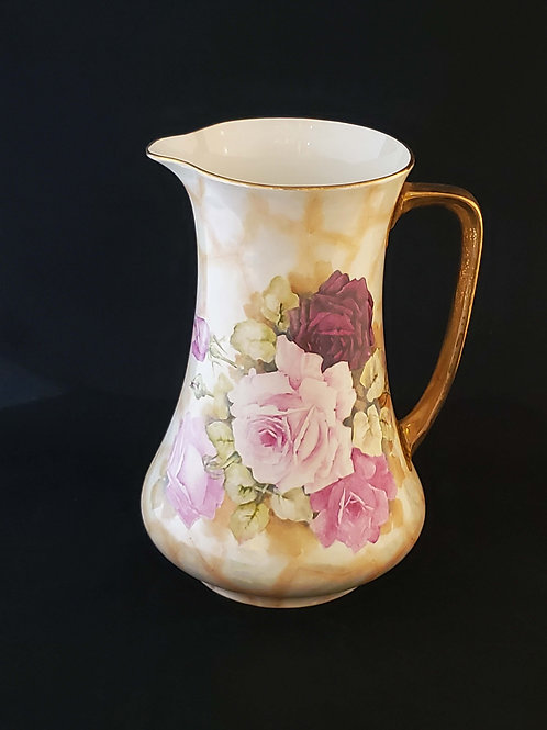 Hand Painted Antique Wedgewood Pitcher
