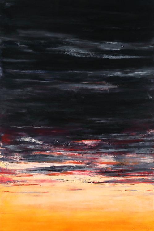 Indiana Sunset (archival print)
