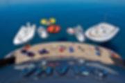 yacht toys behind boat fliteboard jetski