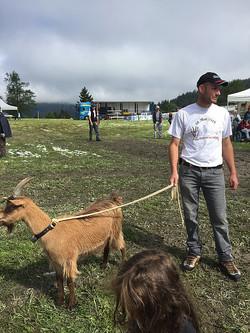 A la fête de la chèvre à Lens (VS)