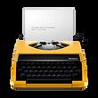 yellow typewriter icon.png