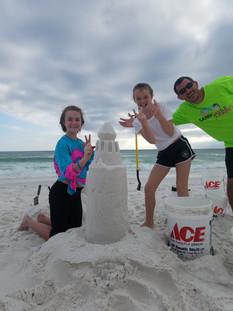 SandCastle Rockstar Sand Castle Lesson