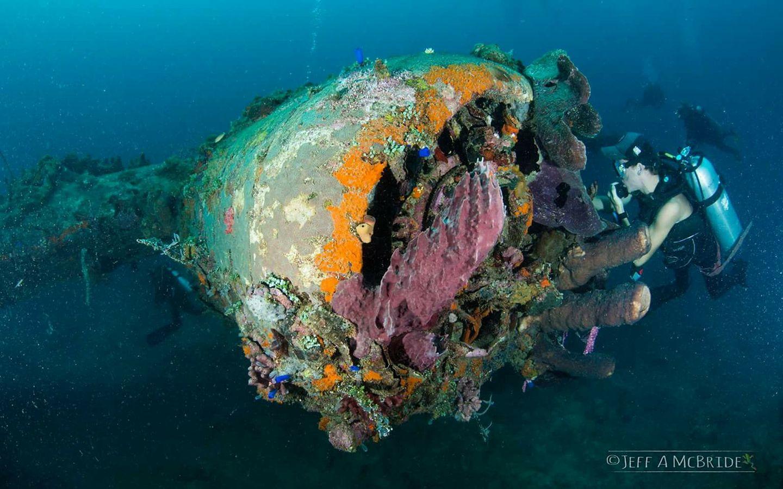 Diving pamflet