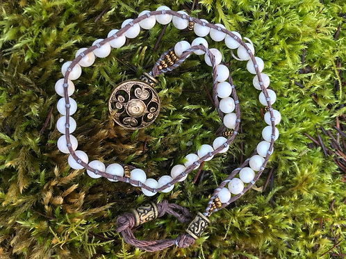 Frosted Magnesite Grace Wrap