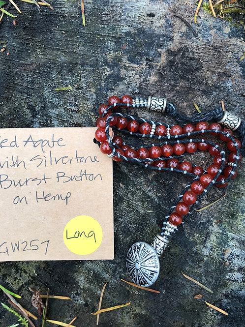 Red Agate Grace Wrap