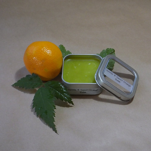 Wild Nettle Sweet Orange Botanical Balm