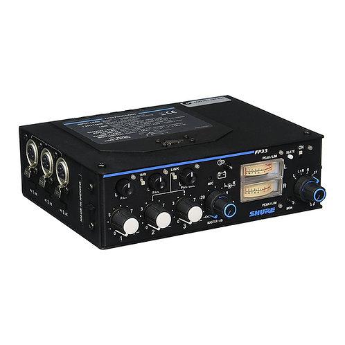 Mixer Portátil de Audio Shure FP32