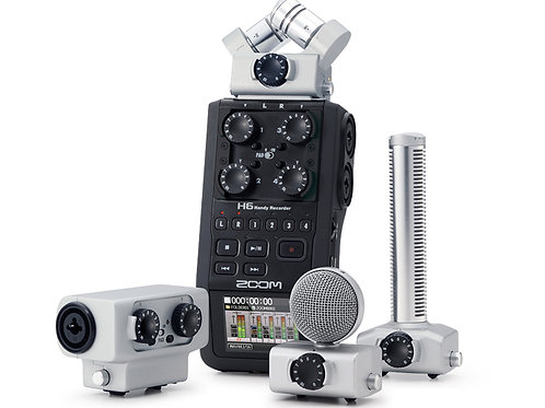 Zoom H6 Six-track Portable Handy Recorder