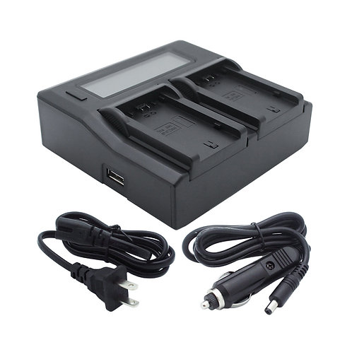 Dual Channel Battery Charger for SONY NP-FZ100