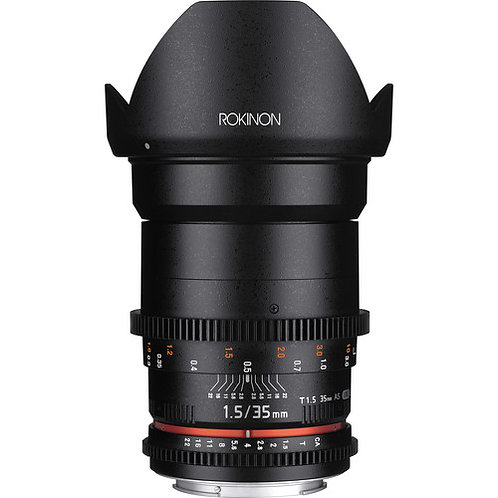 Rokinon 35mm f1.5 Cine DS Sony E-Mount