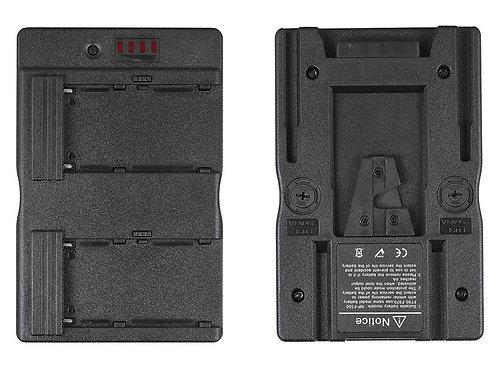 Convertidor de baterías NP-F 550/750/970 a V-Mount