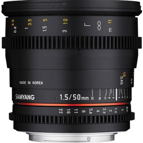 Samyang 50mm f1.5 AS UMC