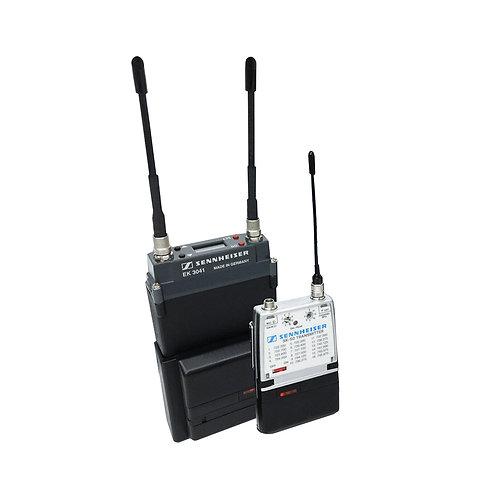Micrófono inalámbrico diversificado Sennheiser 3041 con SK 50