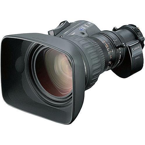 "Lente Canon 22x 2/3"" Motor Drive Full-Servo"