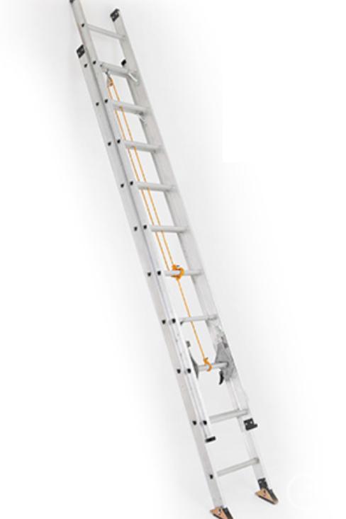 Escalera expansiva tipo tijera de 12 pasos