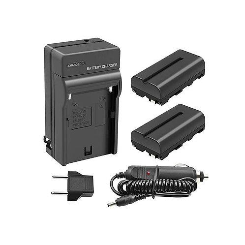 Li-ion Batería Traje y cargador micro USB para SONY