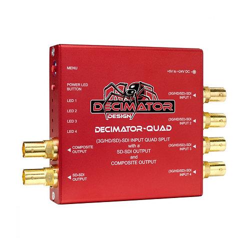 Tarjeta Decimator Quad SDI/HD