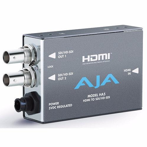 Tarjeta convertidor AJA HA5 HDMI - SDI