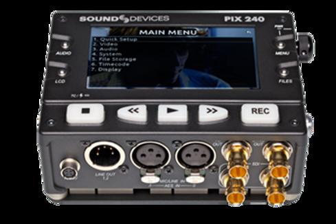 Grabador multiformato Sound Devices PIX 240